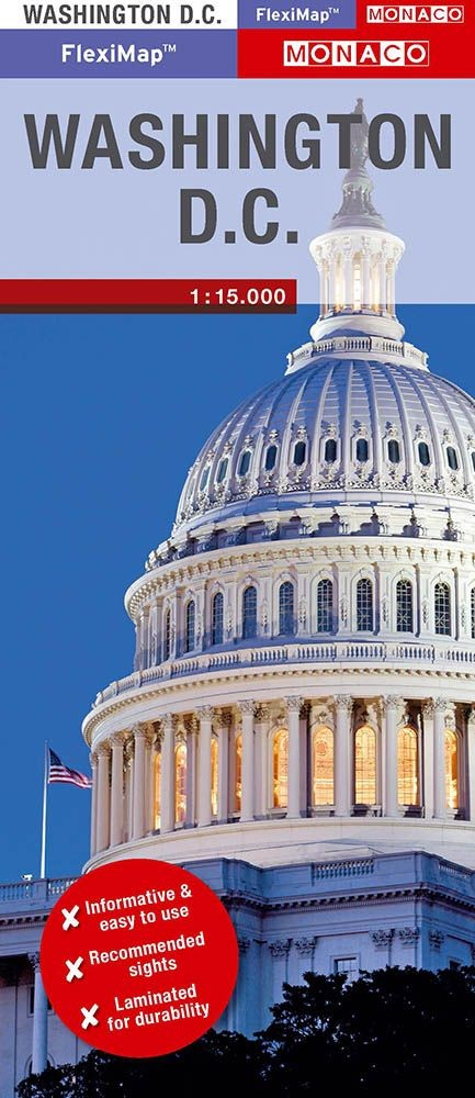 Kart Over Washington D C Usa Kart Veikart Verdenskart