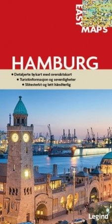 Bykart Hamburg fra Easy Maps