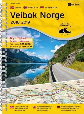 Norgeskart med opplevelser